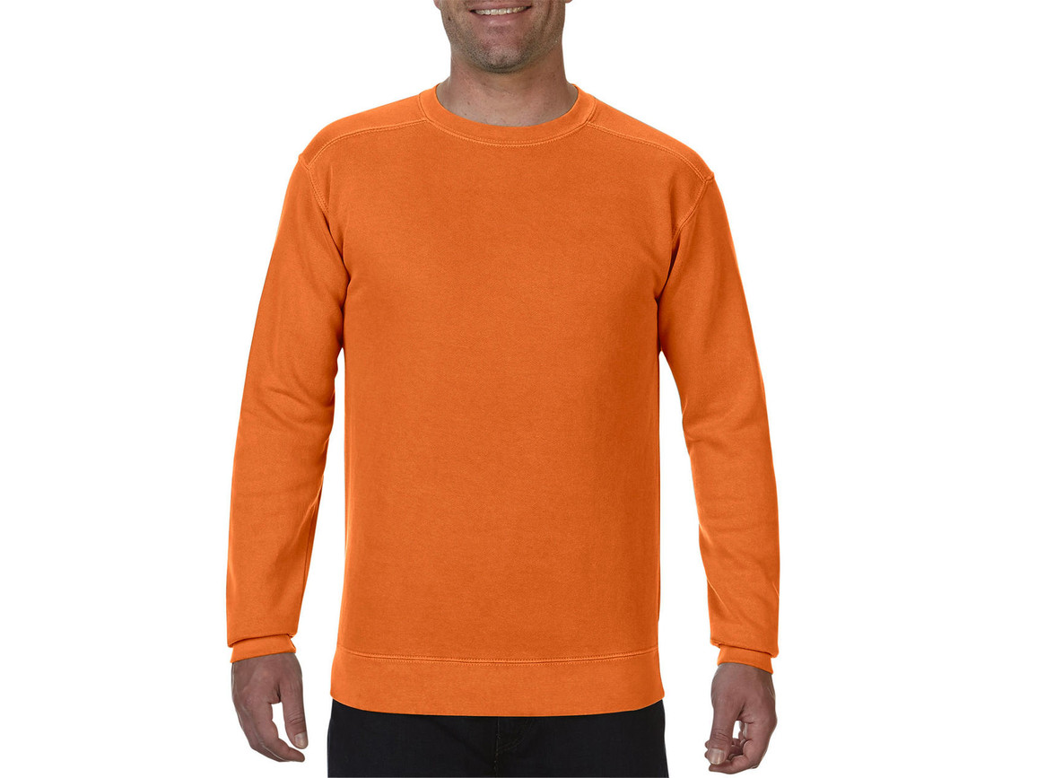 Comfort Colors Adult Crewneck Sweatshirt, Burnt Orange, 3XL bedrucken, Art.-Nr. 200034098