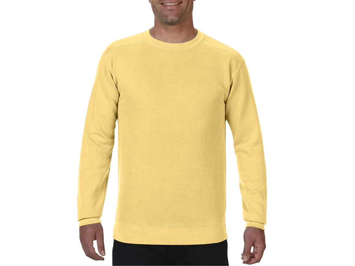 Comfort Colors Adult Crewneck Sweatshirt, Butter, 2XL bedrucken, Art.-Nr. 200036017
