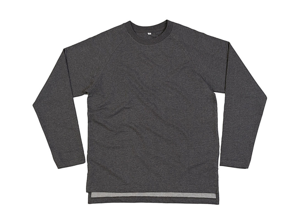 Mantis One Sweatshirt, Charcoal Grey Melange, L bedrucken, Art.-Nr. 201481335
