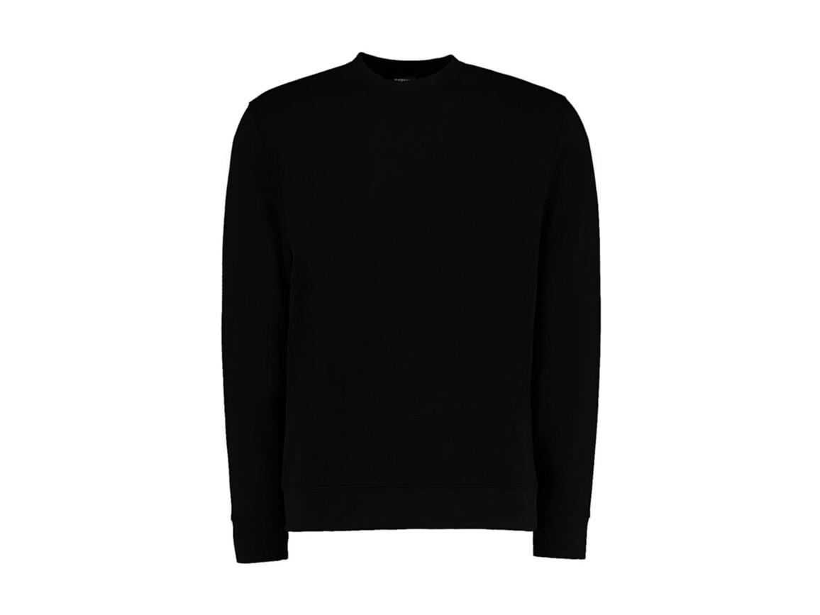 Kustom Kit Regular Fit Sweatshirt Superwash® 60º, Black, 2XL bedrucken, Art.-Nr. 202111017