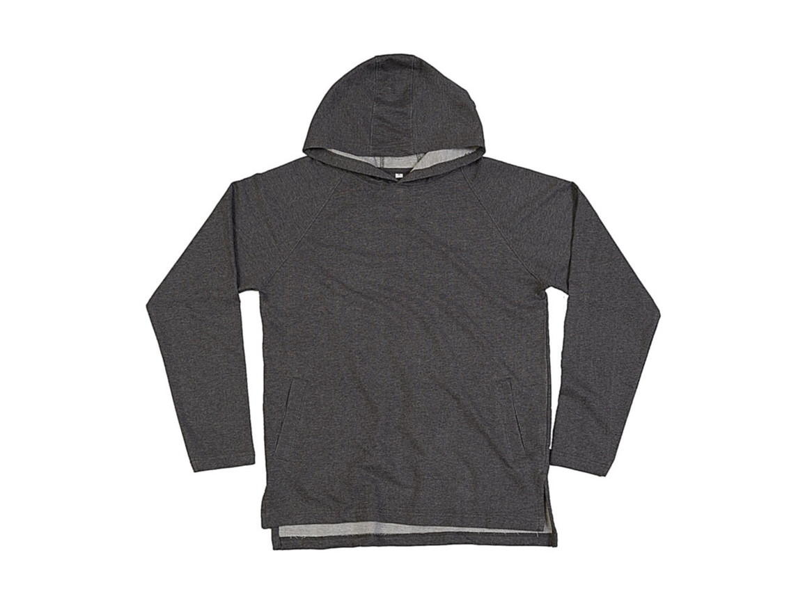 Mantis One Hoodie, Charcoal Grey Melange, S bedrucken, Art.-Nr. 202481333