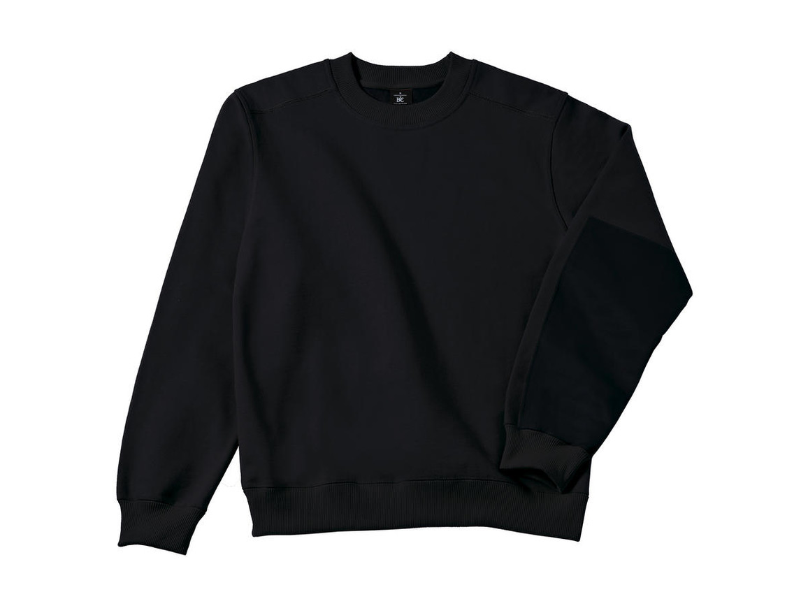 B & C Workwear Sweater - WUC20, Black, 4XL bedrucken, Art.-Nr. 213421019