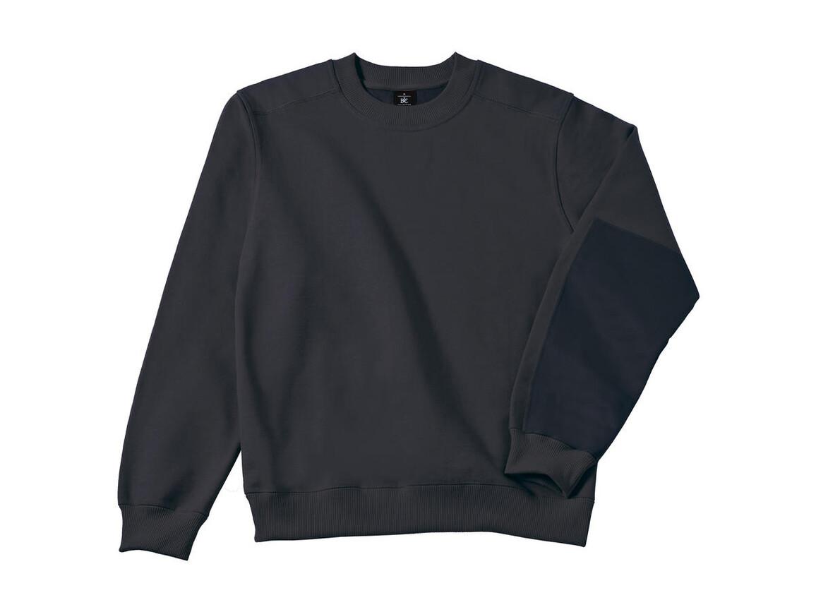 B & C Workwear Sweater - WUC20, Dark Grey, 4XL bedrucken, Art.-Nr. 213421289