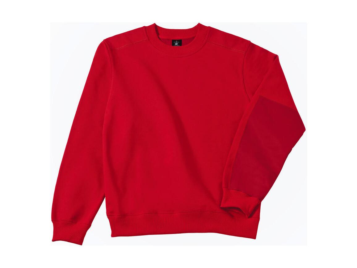 B & C Workwear Sweater - WUC20, Red, L bedrucken, Art.-Nr. 213424005