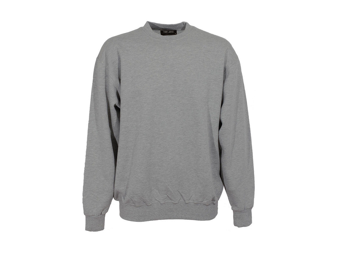 Tee Jays Heavy Sweat, Heather Grey, 2XL bedrucken, Art.-Nr. 215541236