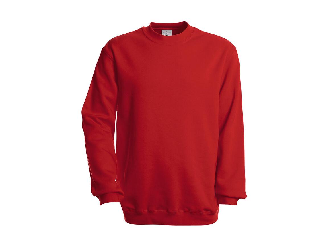 B & C Set In Sweatshirt, Red, S bedrucken, Art.-Nr. 216424003