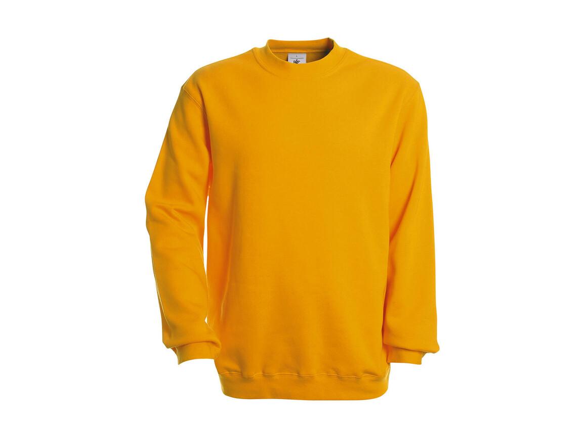 B & C Set In Sweatshirt, Gold, L bedrucken, Art.-Nr. 216426435