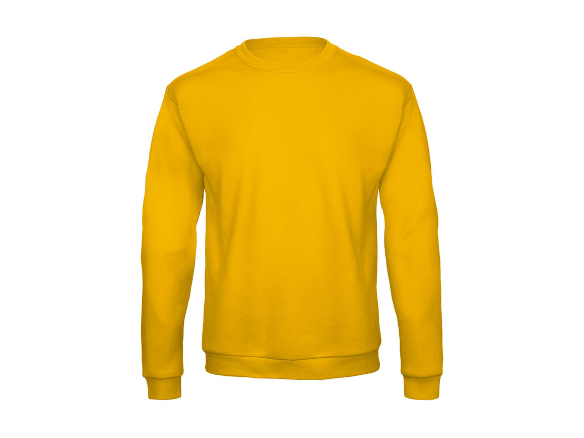 B & C ID.202 50/50 Sweatshirt Unisex, Gold, S bedrucken, Art.-Nr. 220426433