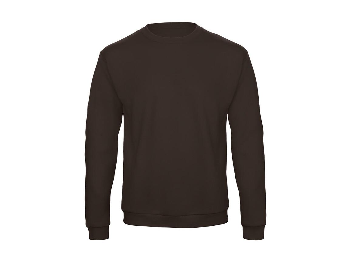 B & C ID.202 50/50 Sweatshirt Unisex, Brown, 4XL bedrucken, Art.-Nr. 220427009
