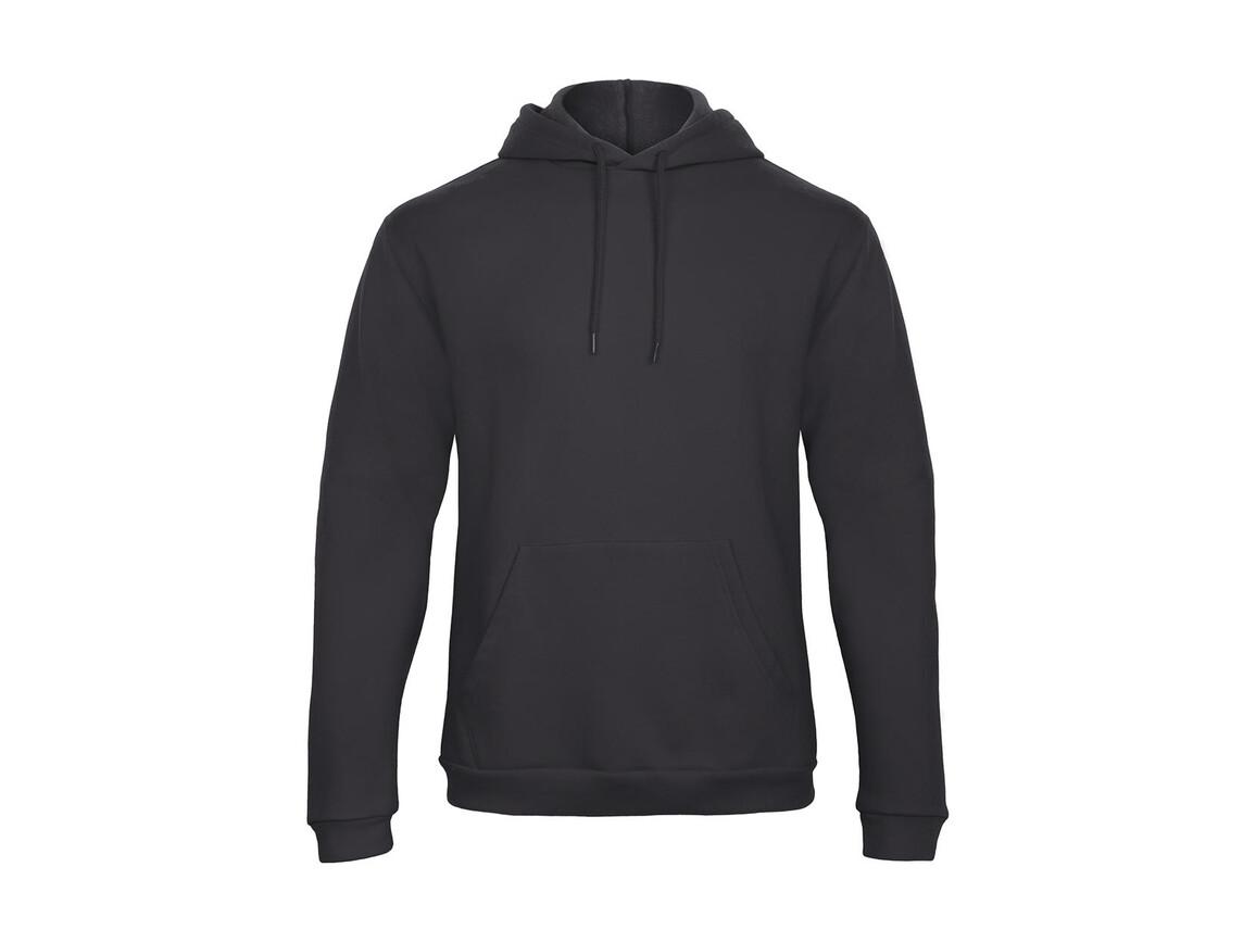 B & C ID.203 50/50 Hooded Sweatshirt Unisex, Anthracite, S bedrucken, Art.-Nr. 221421403