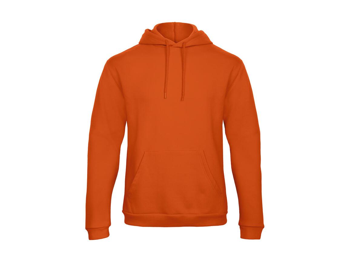 B & C ID.203 50/50 Hooded Sweatshirt Unisex, Pumpkin Orange, XS bedrucken, Art.-Nr. 221424122