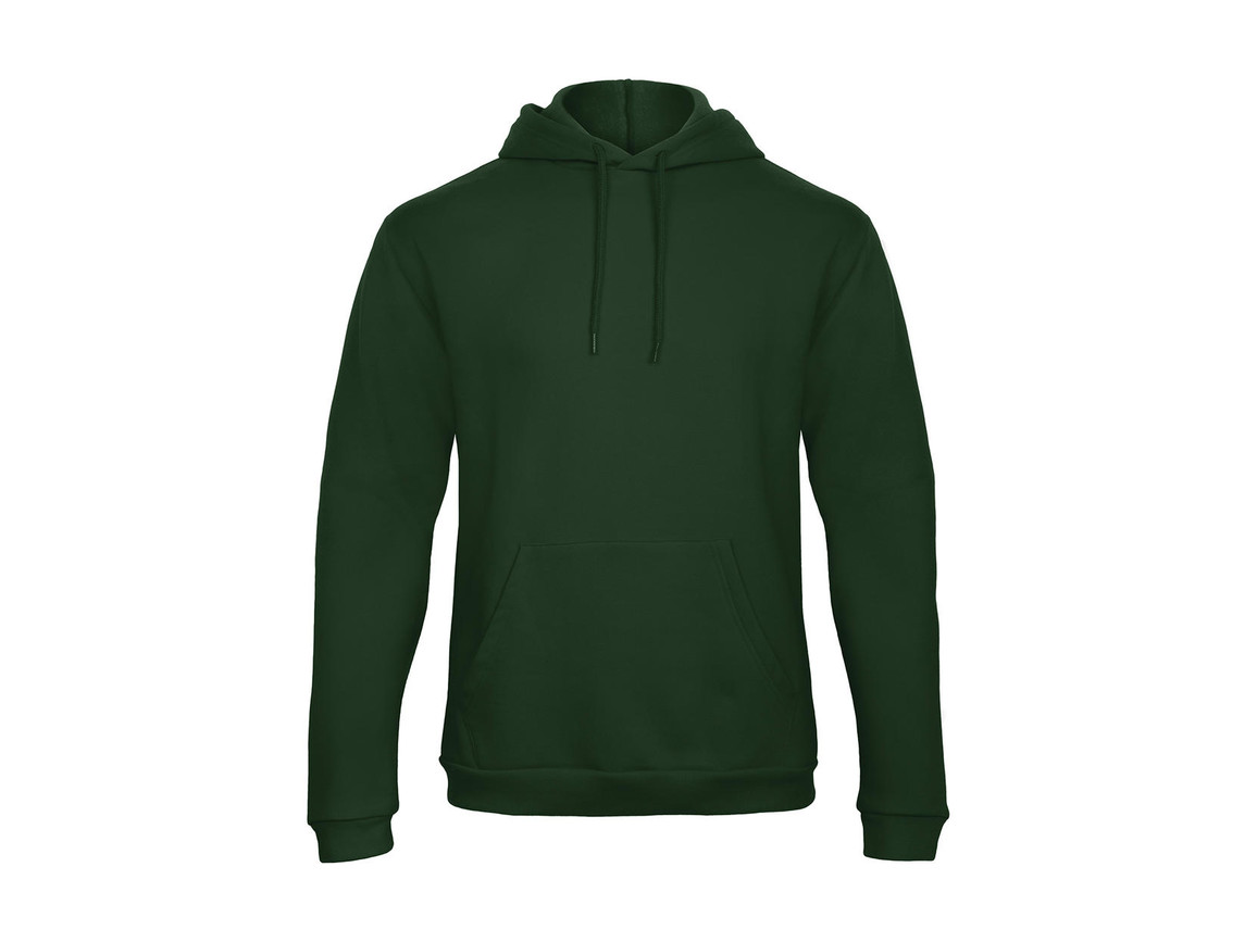 B & C ID.203 50/50 Hooded Sweatshirt Unisex, Bottle Green, XS bedrucken, Art.-Nr. 221425402