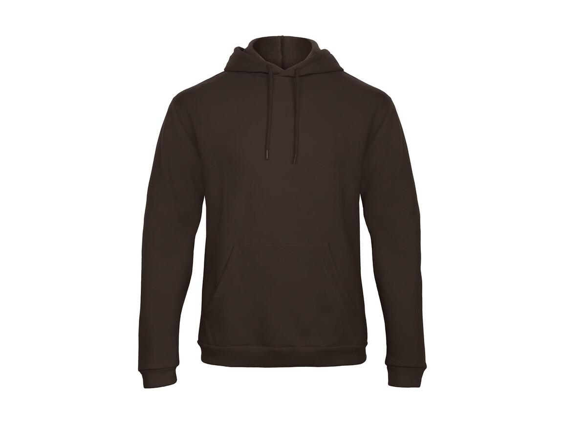 B & C ID.203 50/50 Hooded Sweatshirt Unisex, Brown, 3XL bedrucken, Art.-Nr. 221427008
