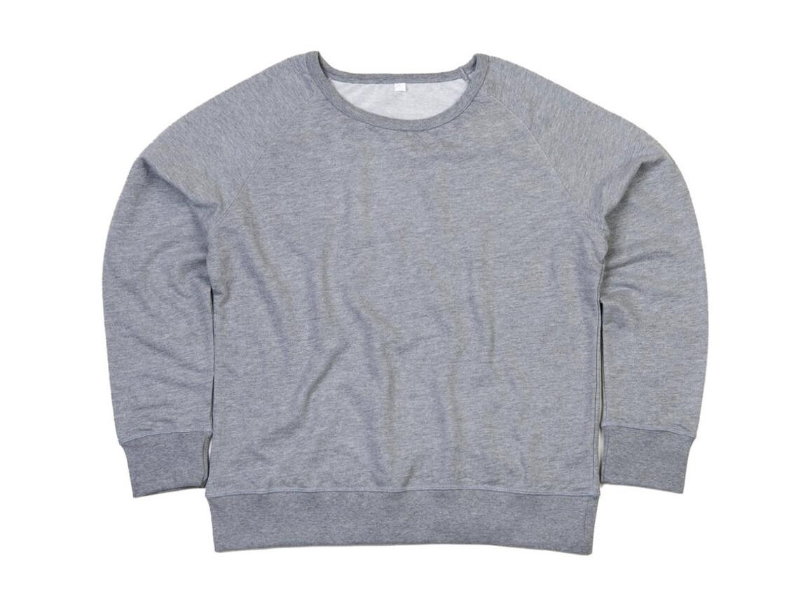 Mantis Ladies Sweatshirt, Heather Grey Melange, S bedrucken, Art.-Nr. 231481233