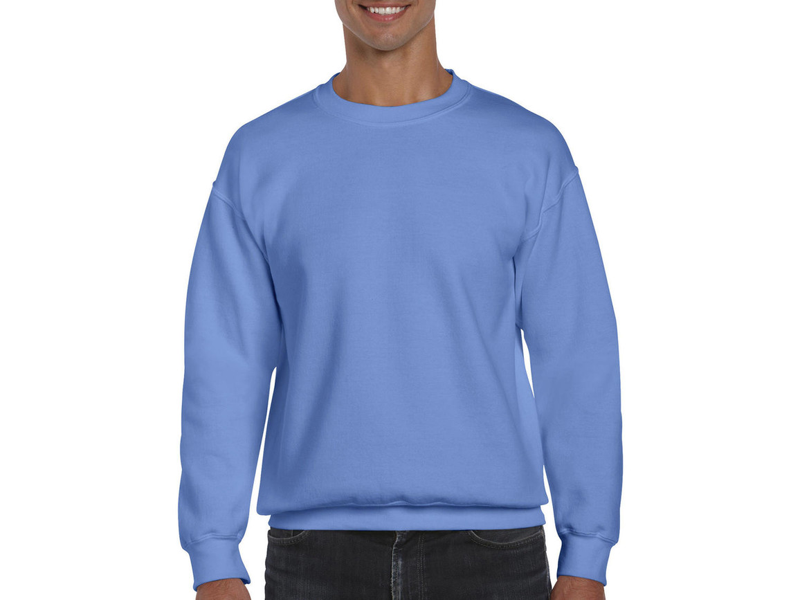 Gildan DryBlend Adult Crewneck Sweat, Carolina Blue, S bedrucken, Art.-Nr. 235093223