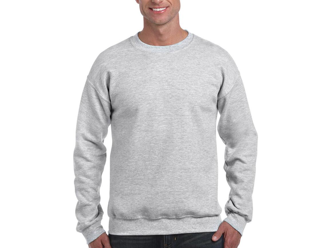 Gildan DryBlend Adult Crewneck Sweat, Ash Grey, XL bedrucken, Art.-Nr. 235097036