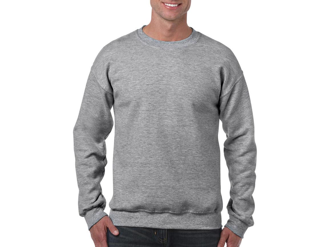 Gildan Heavy Blend Adult Crewneck Sweat, Sport Grey, S bedrucken, Art.-Nr. 238091253