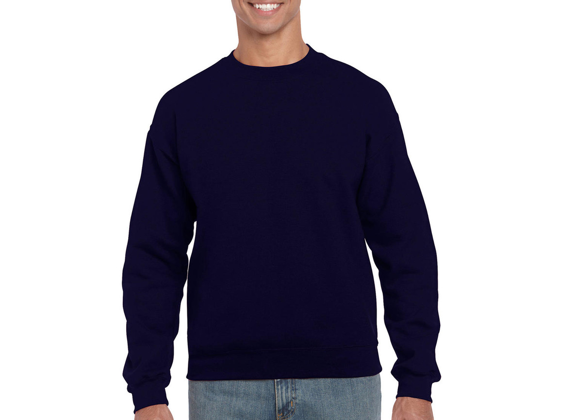 Gildan Heavy Blend Adult Crewneck Sweat, Navy, 2XL bedrucken, Art.-Nr. 238092007