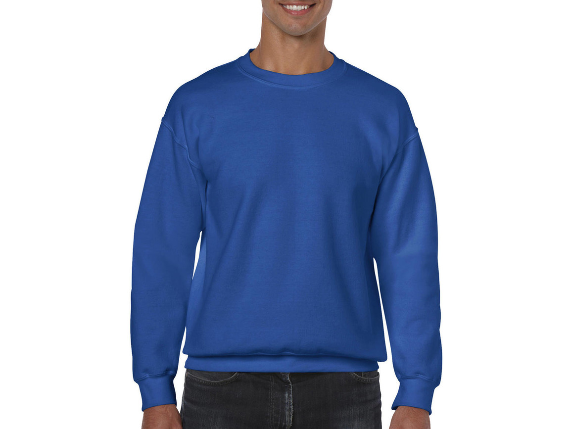 Gildan Heavy Blend Adult Crewneck Sweat, Royal, M bedrucken, Art.-Nr. 238093004