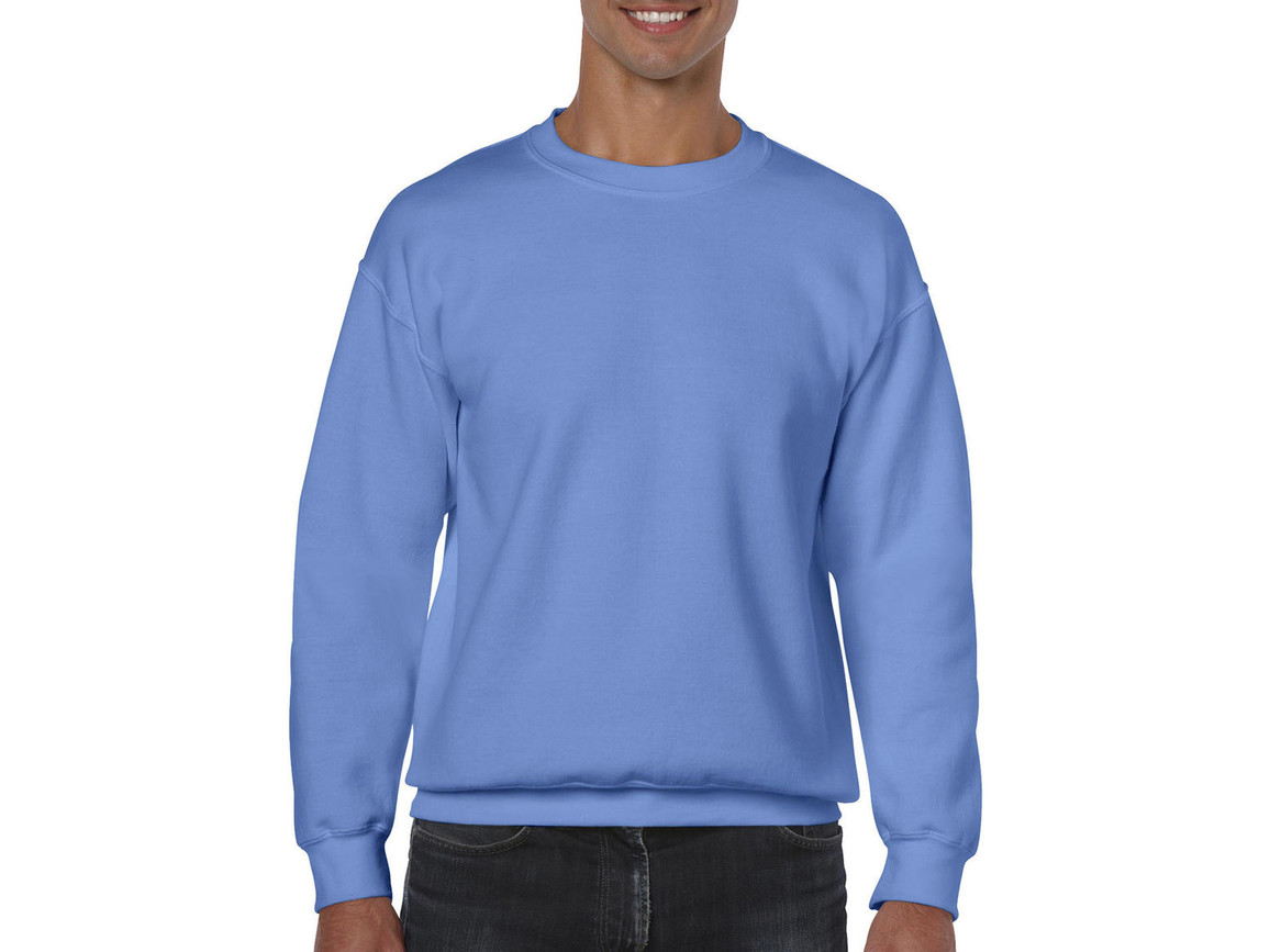 Gildan Heavy Blend Adult Crewneck Sweat, Carolina Blue, M bedrucken, Art.-Nr. 238093224
