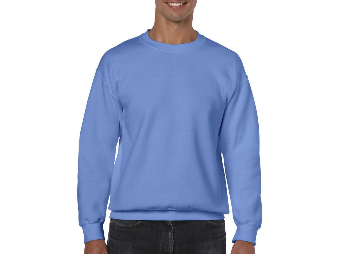 Gildan Heavy Blend Adult Crewneck Sweat, Carolina Blue, S bedrucken, Art.-Nr. 238093223