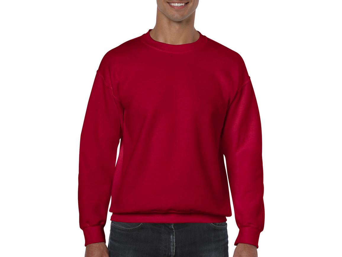 Gildan Heavy Blend Adult Crewneck Sweat, Cherry Red, XL bedrucken, Art.-Nr. 238094016