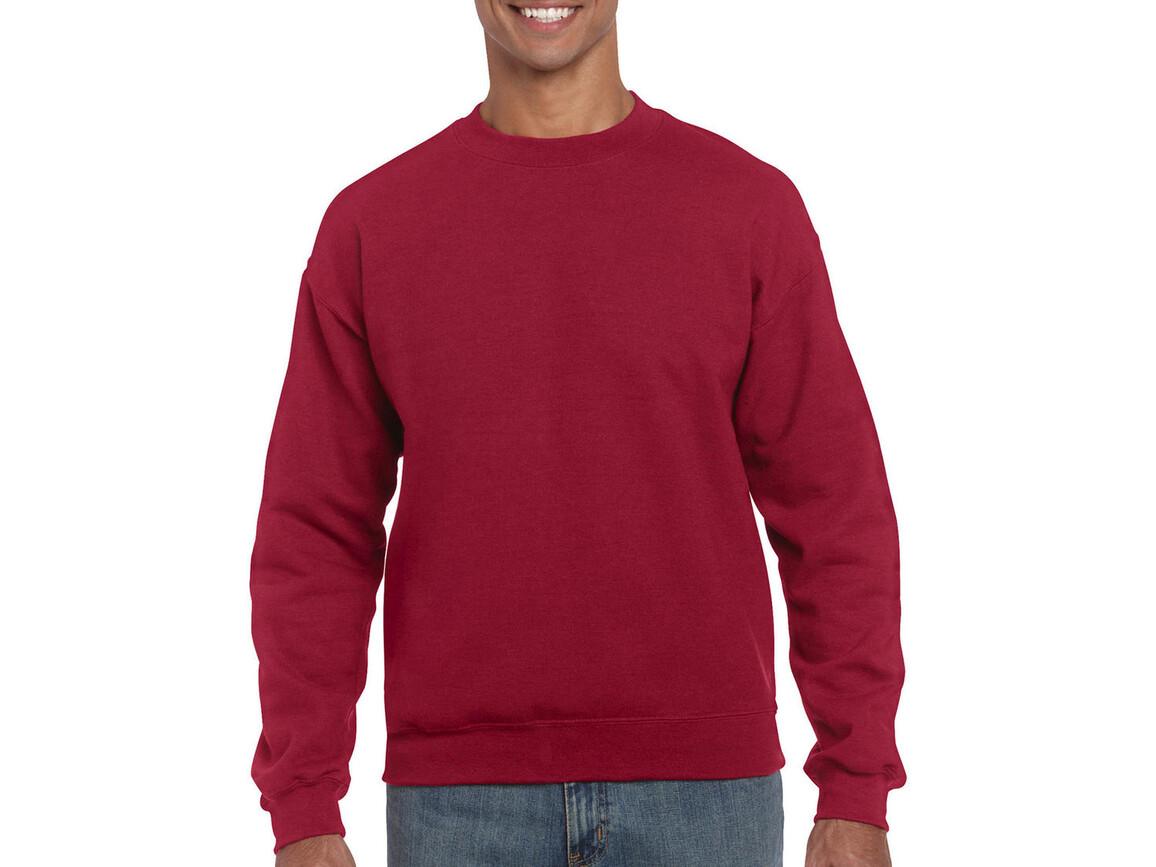Gildan Heavy Blend Adult Crewneck Sweat, Antique Cherry Red, XL bedrucken, Art.-Nr. 238094076