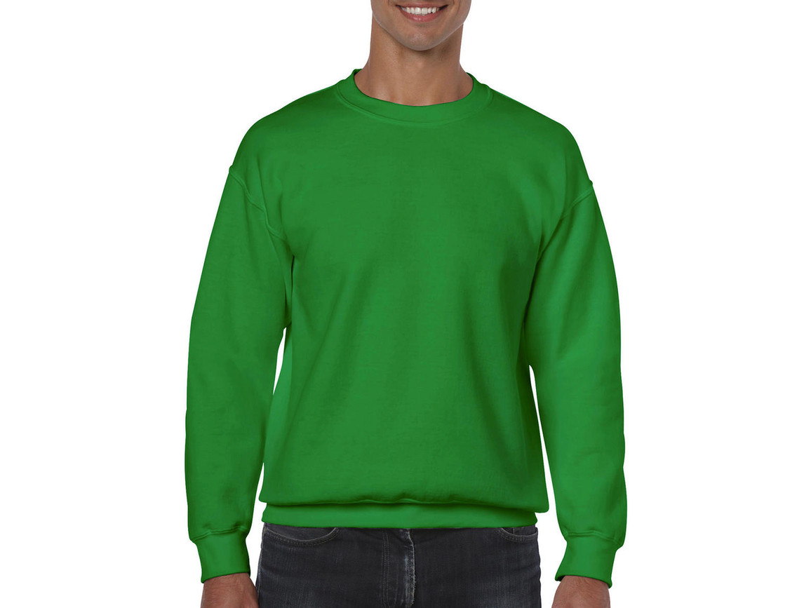 Gildan Heavy Blend Adult Crewneck Sweat, Irish Green, L bedrucken, Art.-Nr. 238095095