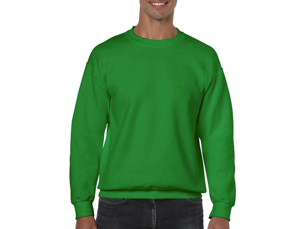 Gildan Heavy Blend Adult Crewneck Sweat, Irish Green, XL bedrucken, Art.-Nr. 238095096