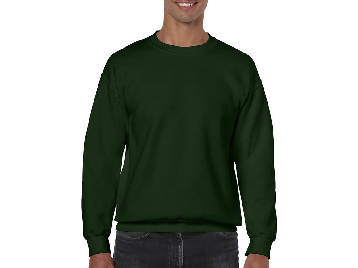 Gildan Heavy Blend Adult Crewneck Sweat, Forest Green, XL bedrucken, Art.-Nr. 238095416