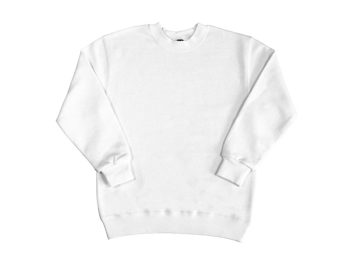 SG Kids` Sweatshirt, White, 116 (5-6/M) bedrucken, Art.-Nr. 286520004