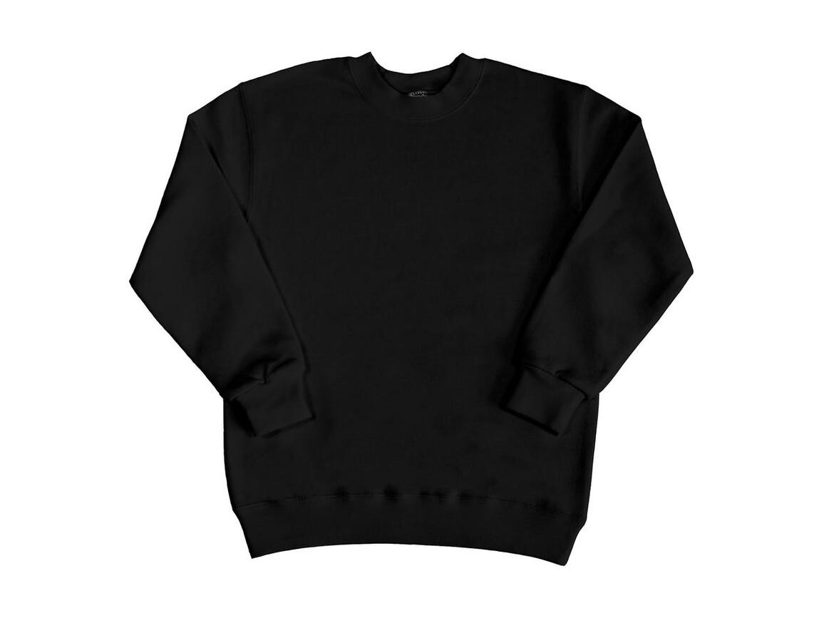 SG Kids` Sweatshirt, Black, 128 (7-8/L) bedrucken, Art.-Nr. 286521015