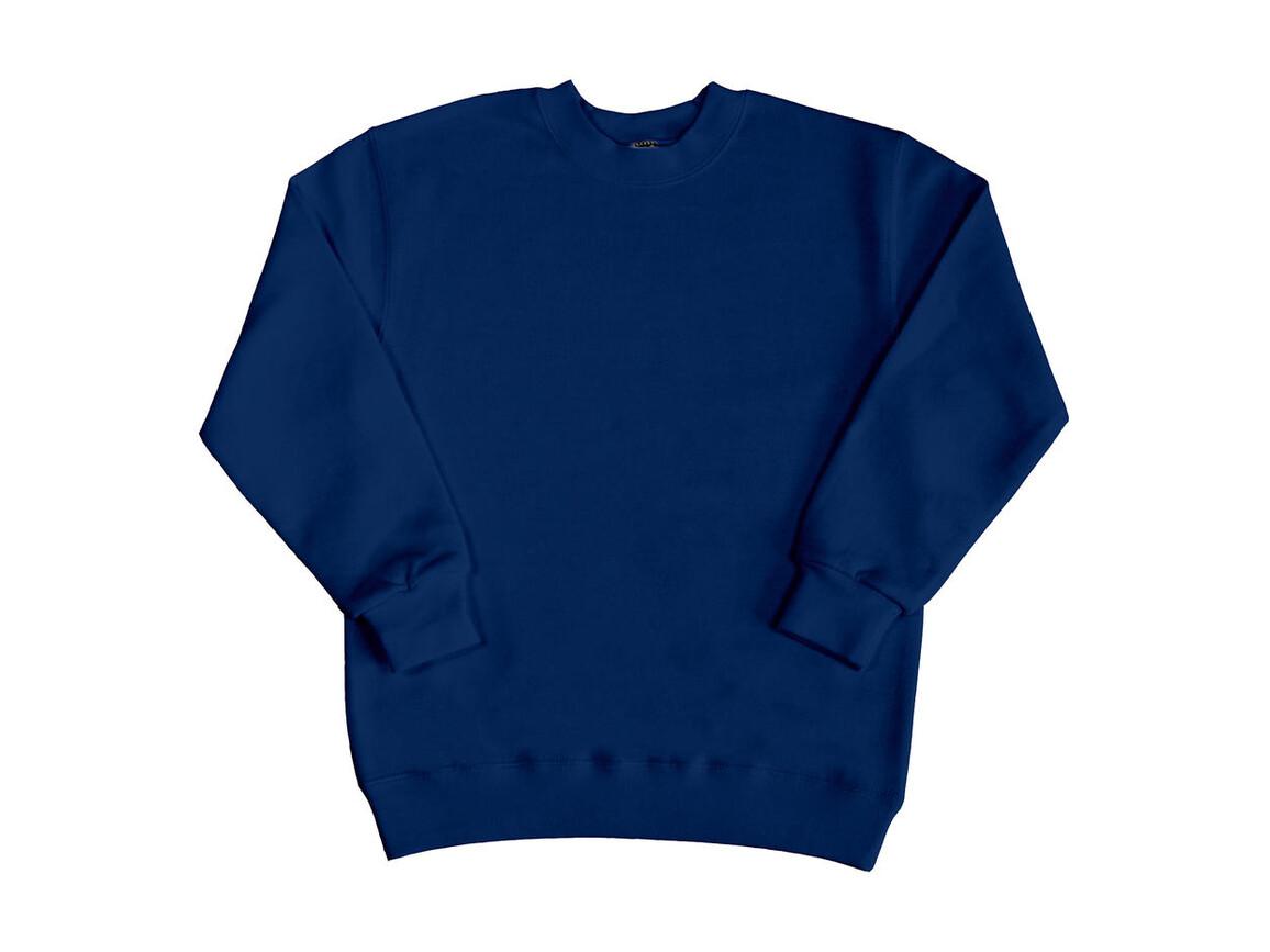 SG Kids` Sweatshirt, Navy, 128 (7-8/L) bedrucken, Art.-Nr. 286522005