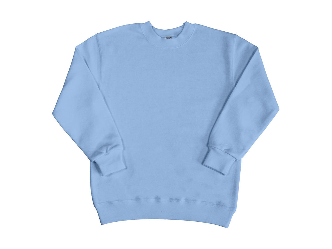 SG Kids` Sweatshirt, Sky, 152 (11-12/2XL) bedrucken, Art.-Nr. 286523207