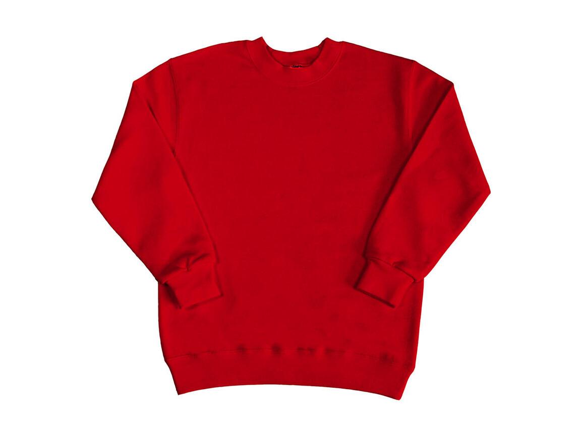 SG Kids` Sweatshirt, Red, 128 (7-8/L) bedrucken, Art.-Nr. 286524005