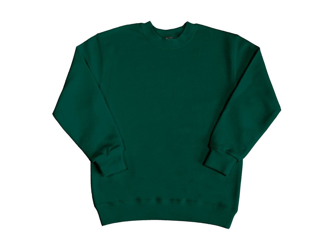 SG Kids` Sweatshirt, Bottle Green, 116 (5-6/M) bedrucken, Art.-Nr. 286525404