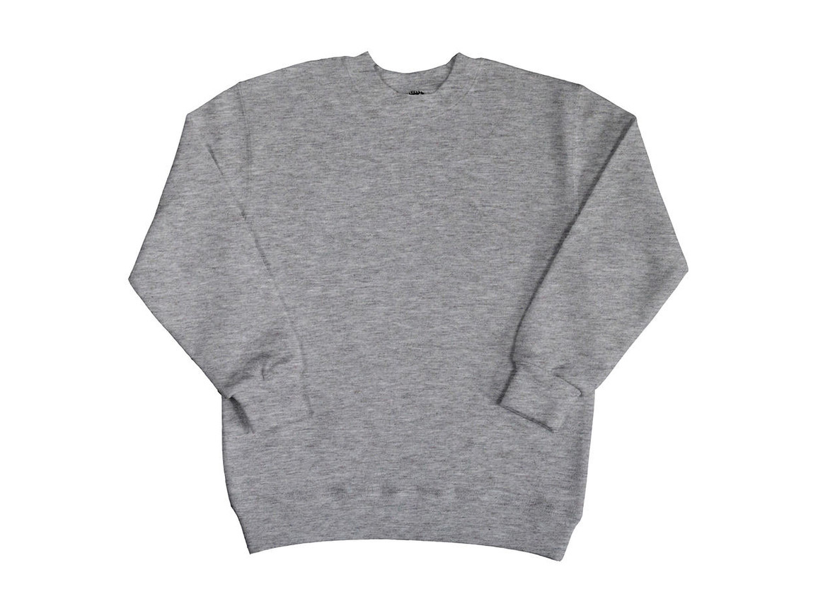 SG Kids` Sweatshirt, Light Oxford, 116 (5-6/M) bedrucken, Art.-Nr. 286527194