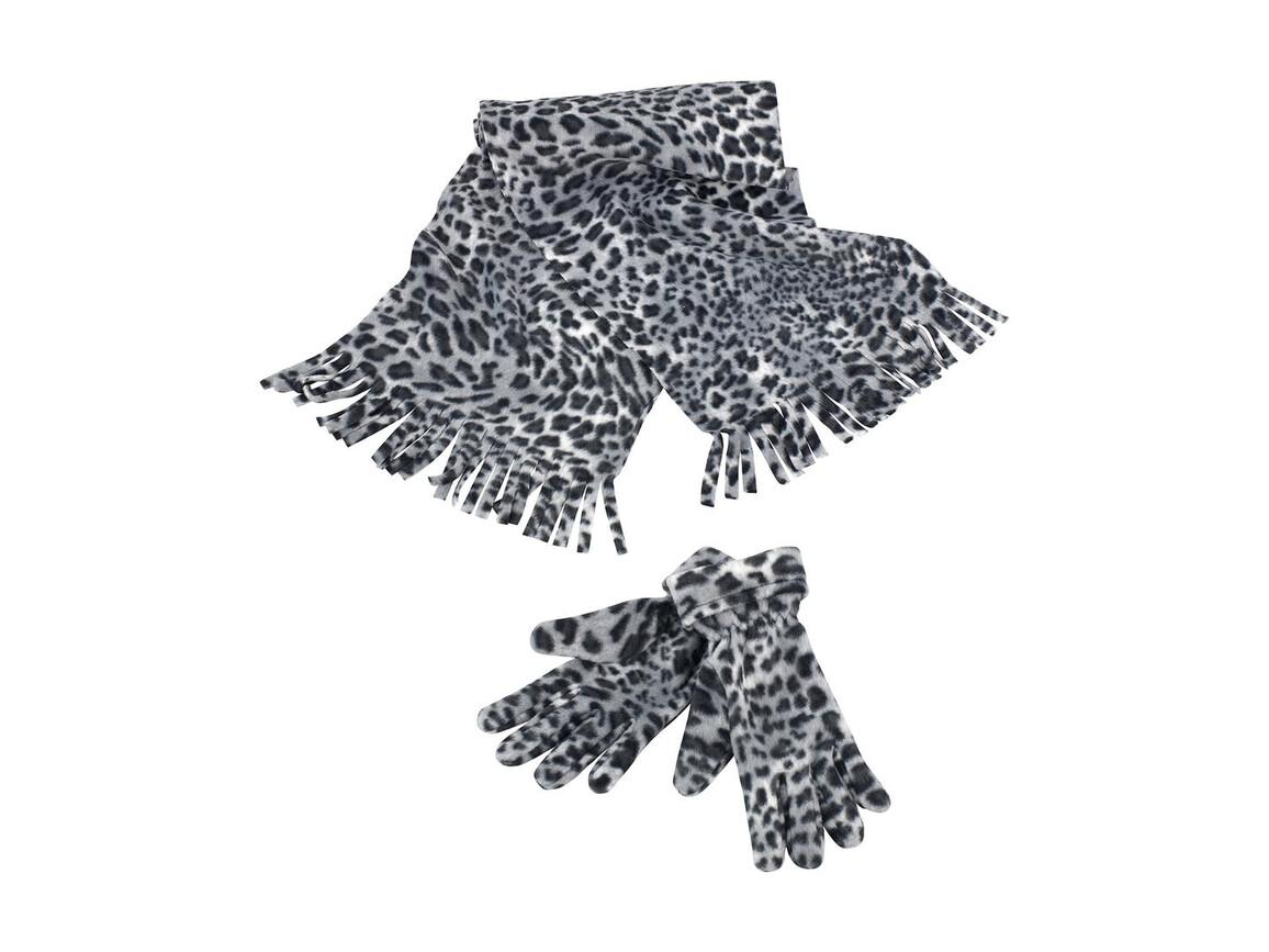 Result Snow Leopard Set, Black/White, One Size bedrucken, Art.-Nr. 366331500