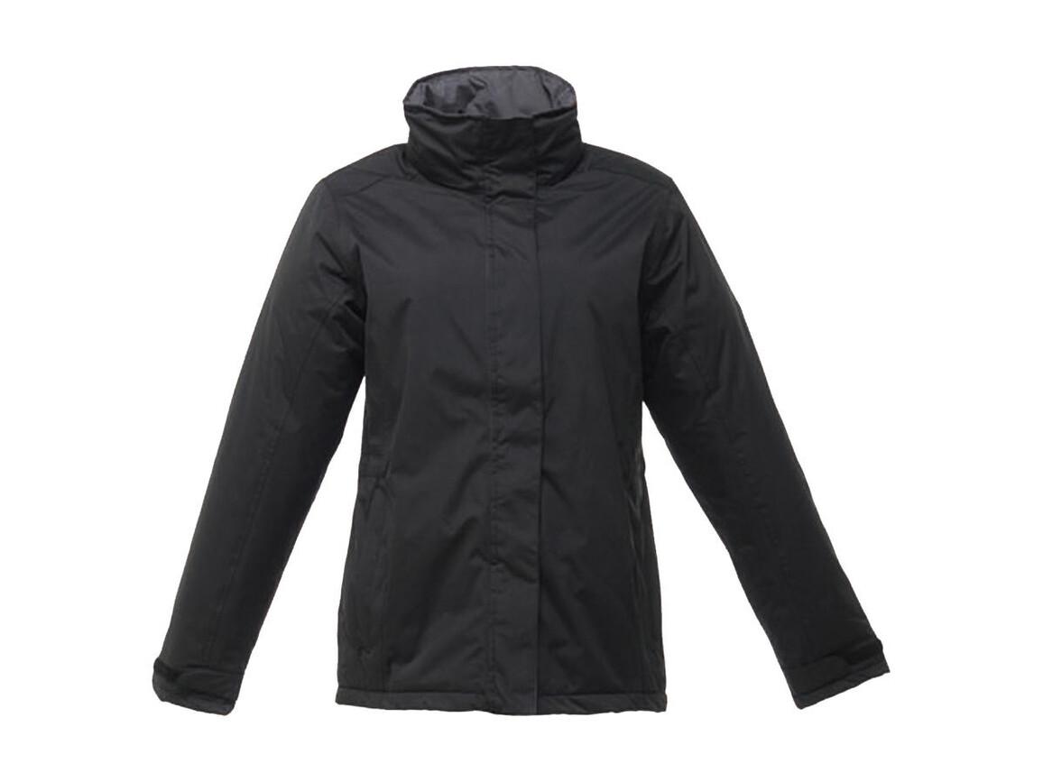 Regatta Ladies` Beauford Insulated Jacket, Black, 16 (42) bedrucken, Art.-Nr. 404171016