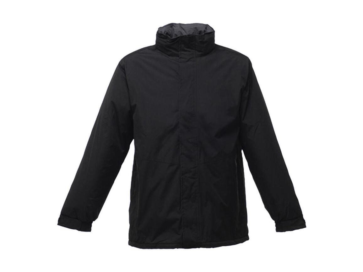 Regatta Beauford Insulated Jacket, Black, 2XL bedrucken, Art.-Nr. 405171017