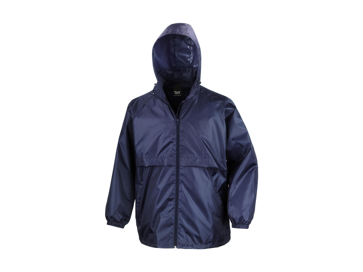 Result Lightweight Jacket, Navy, XS bedrucken, Art.-Nr. 409332002