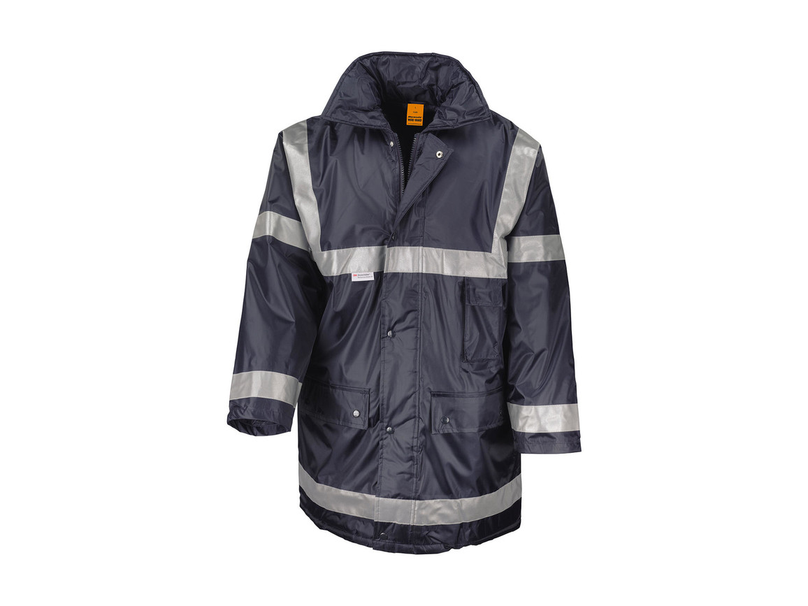 Result Management Coat, Navy, L bedrucken, Art.-Nr. 410332005