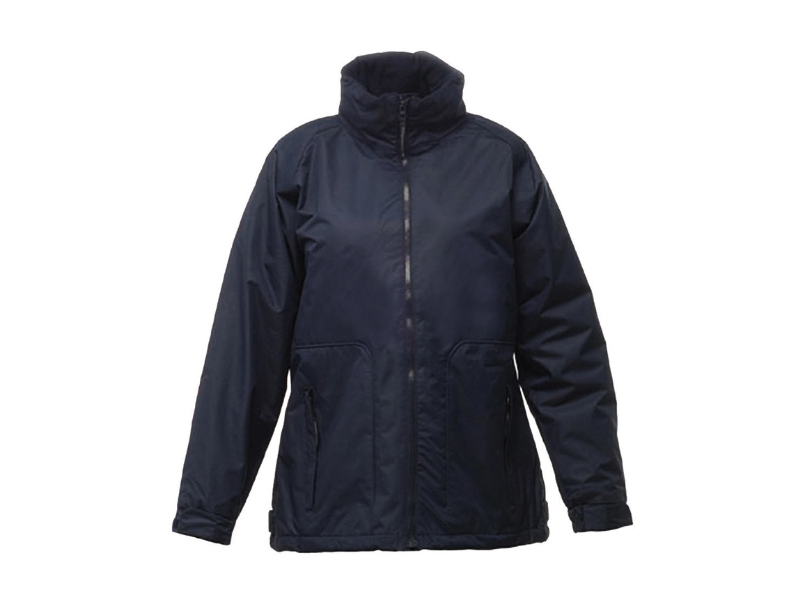 Regatta Ladies` Hudson Jacket, Navy, 18 (44) bedrucken, Art.-Nr. 411172004