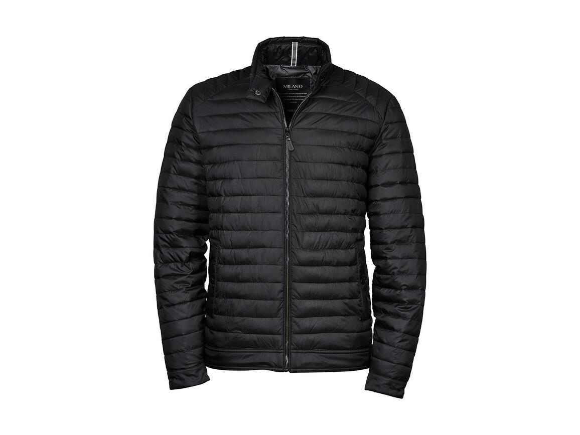 Tee Jays Milano Jacket, Black, XL bedrucken, Art.-Nr. 411541016