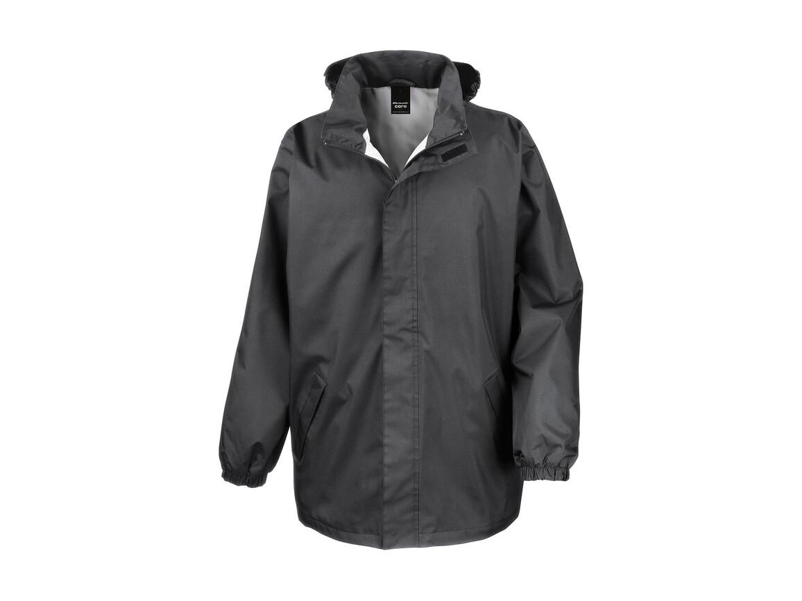 Result Core Midweight Jacket, Steel Grey, S bedrucken, Art.-Nr. 412331113
