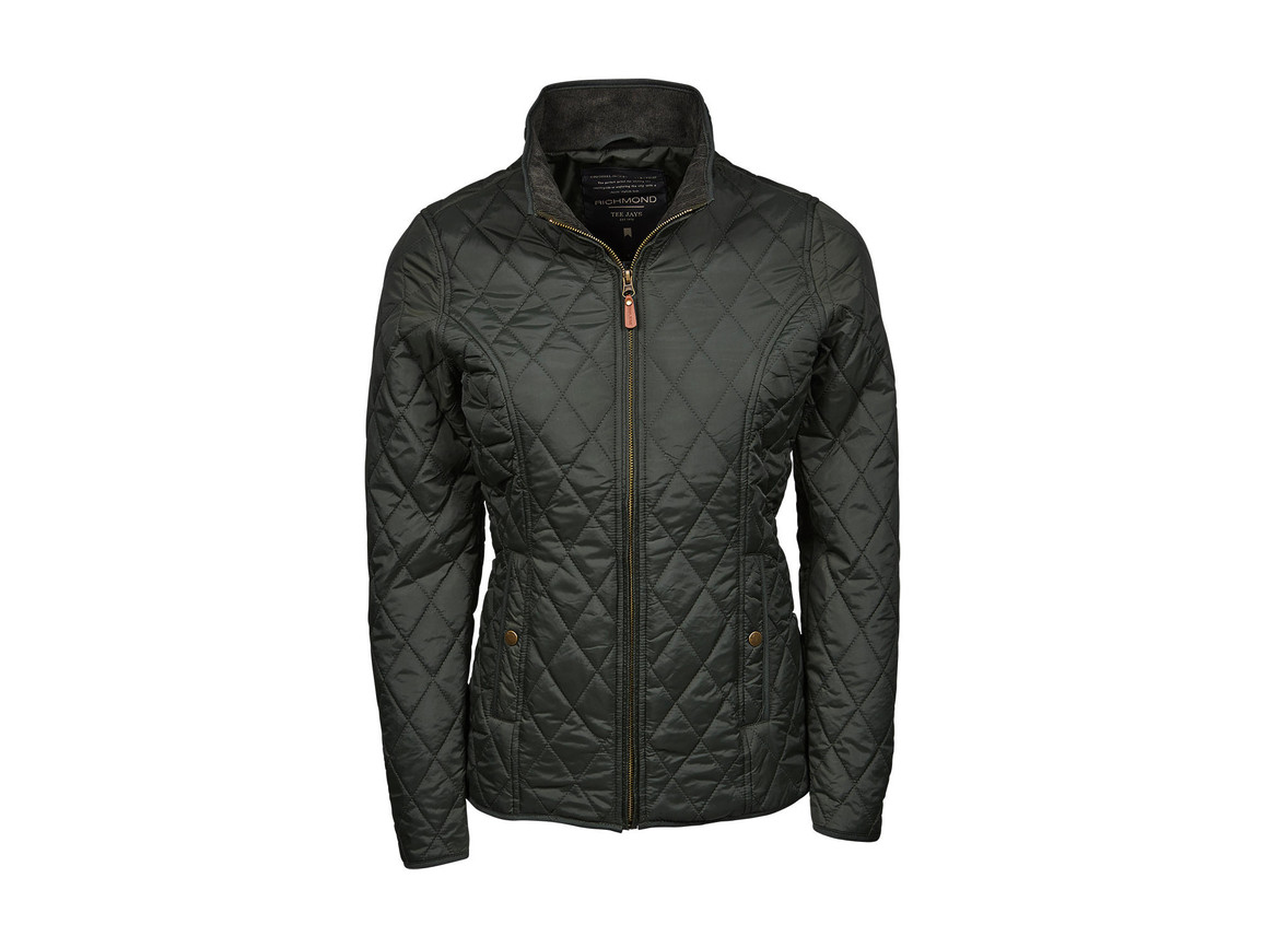 Tee Jays Ladies` Richmond Jacket, Hunter Green, XL bedrucken, Art.-Nr. 417545036