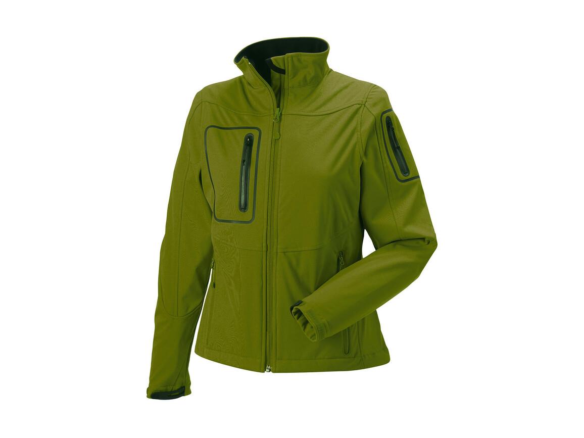 Russell Europe Ladies` Sports Shell 5000 Jacket, Cactus, 2XL (44) bedrucken, Art.-Nr. 420006467