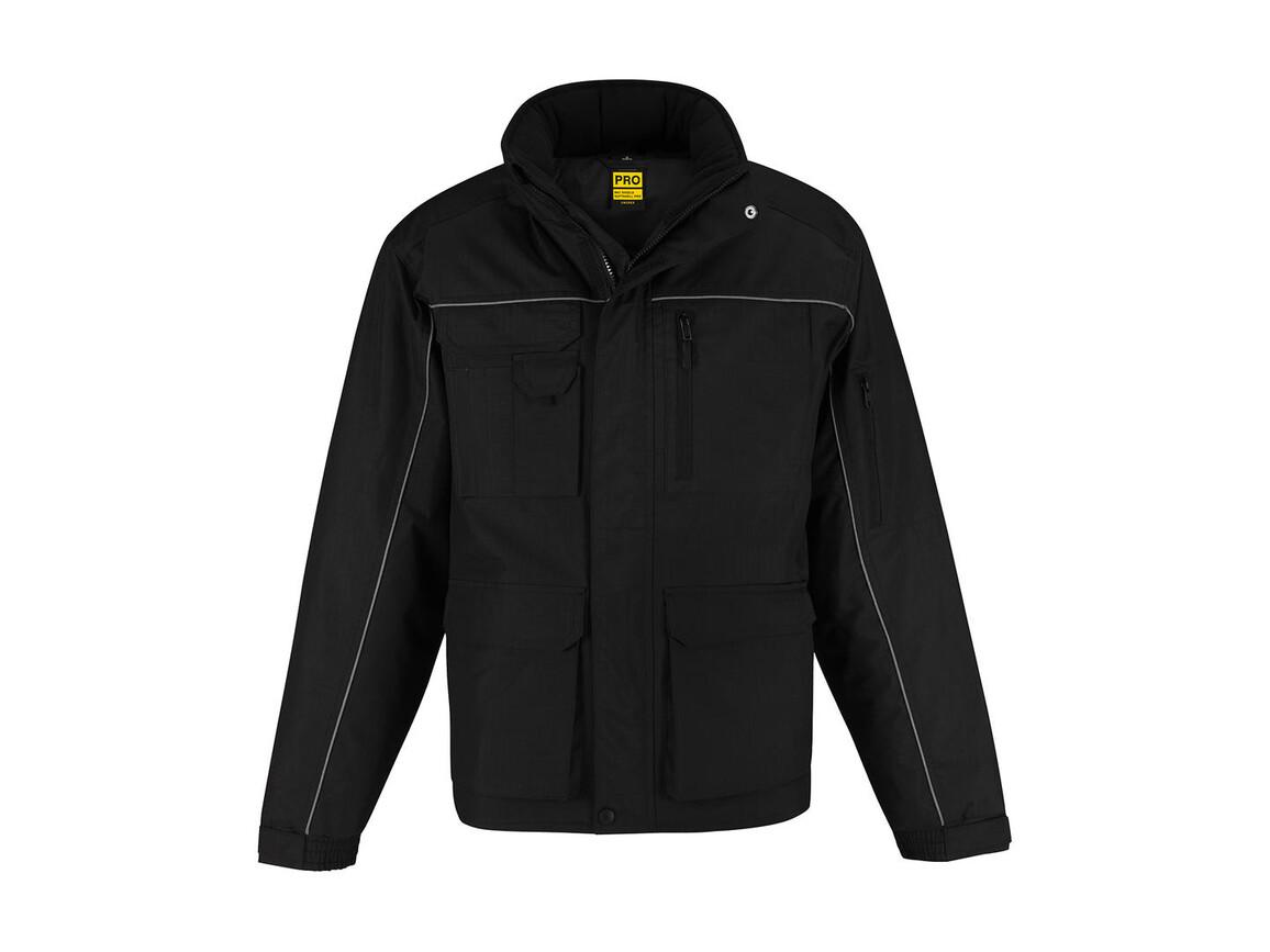 B & C Shelter PRO Jacket, Black, 3XL bedrucken, Art.-Nr. 421421018