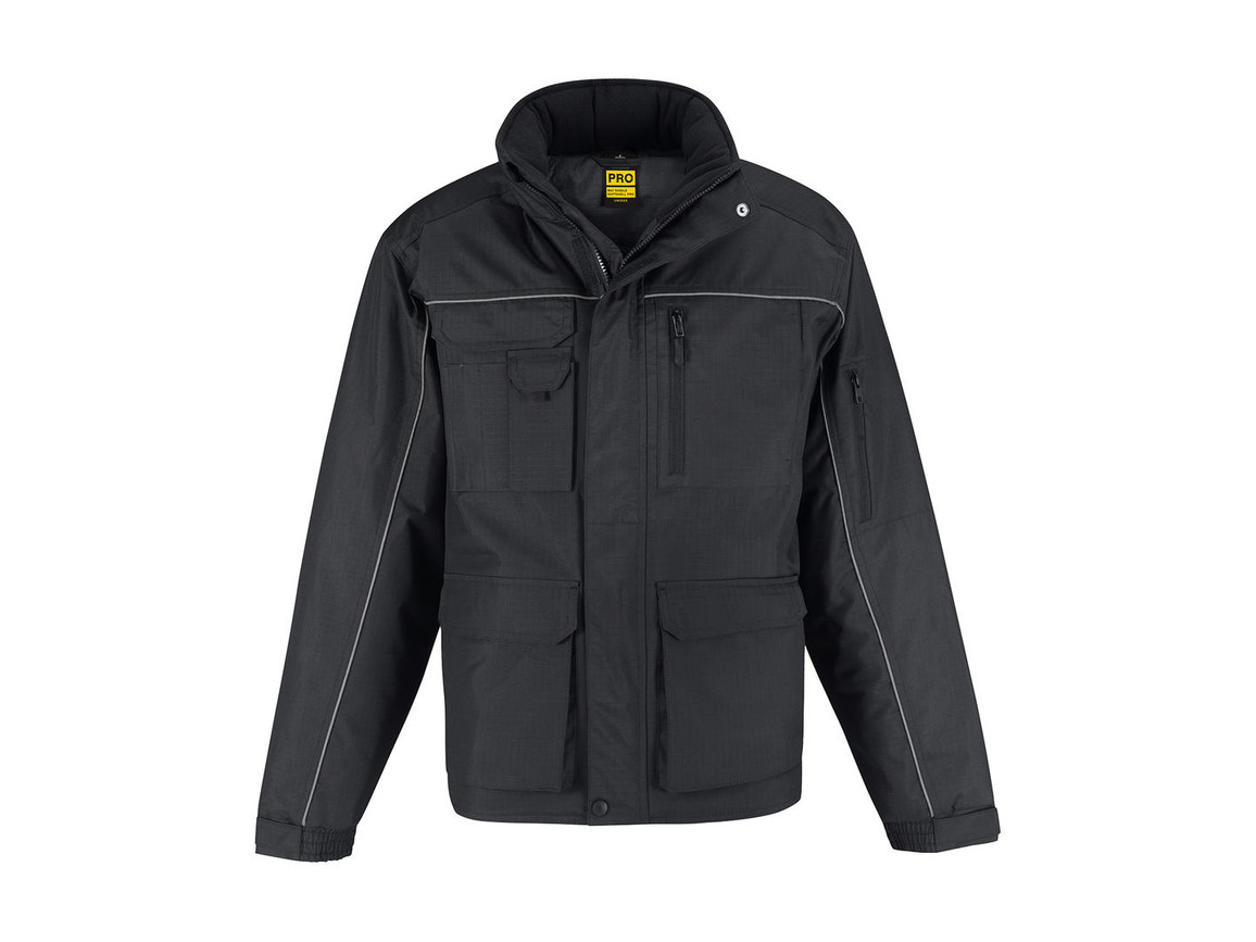 B & C Shelter PRO Jacket, Dark Grey, 3XL bedrucken, Art.-Nr. 421421288