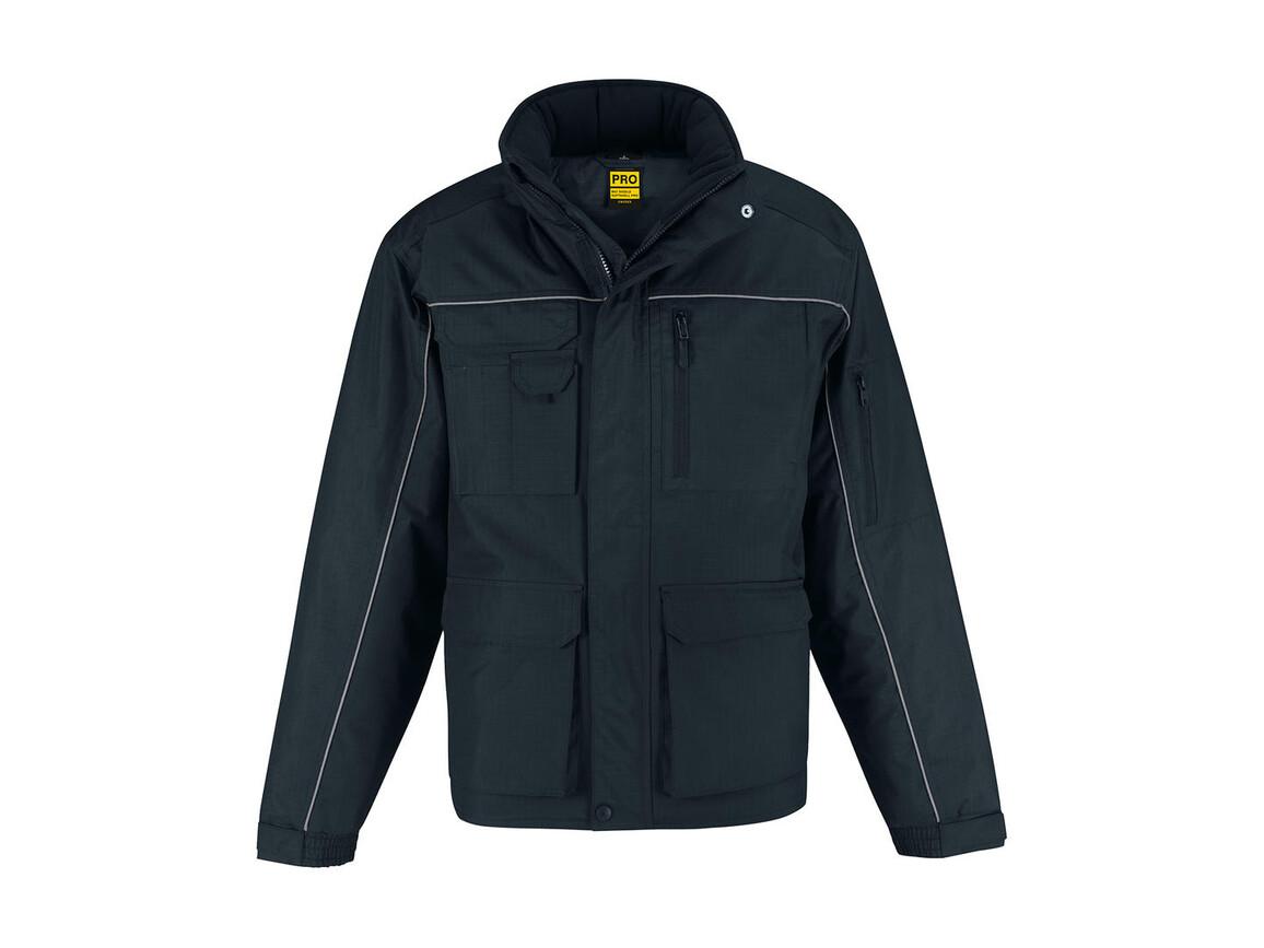B & C Shelter PRO Jacket, Navy, M bedrucken, Art.-Nr. 421422004